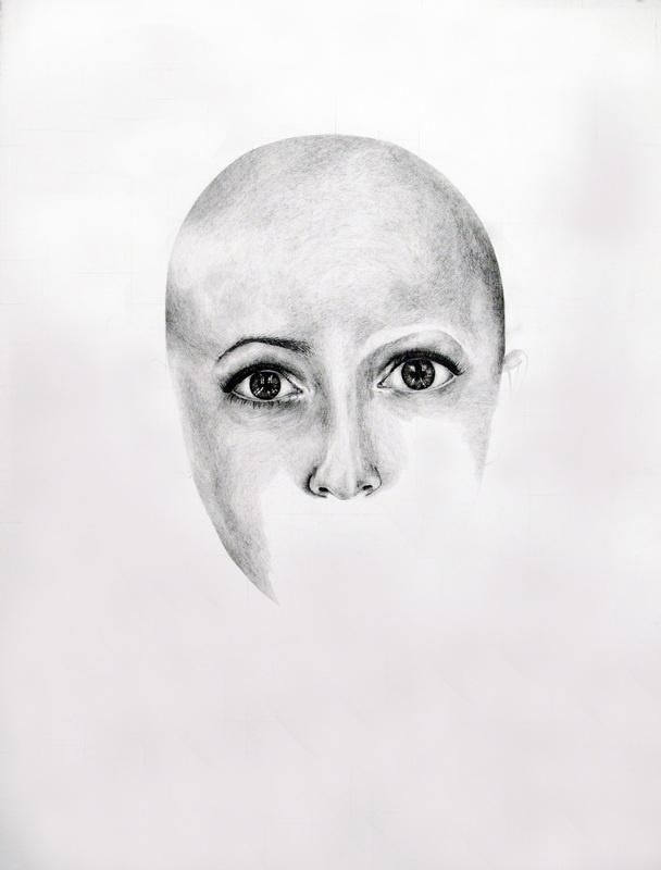 "Gillian Lambert. Graphite on Paper. 22"" x 30"". 2011."