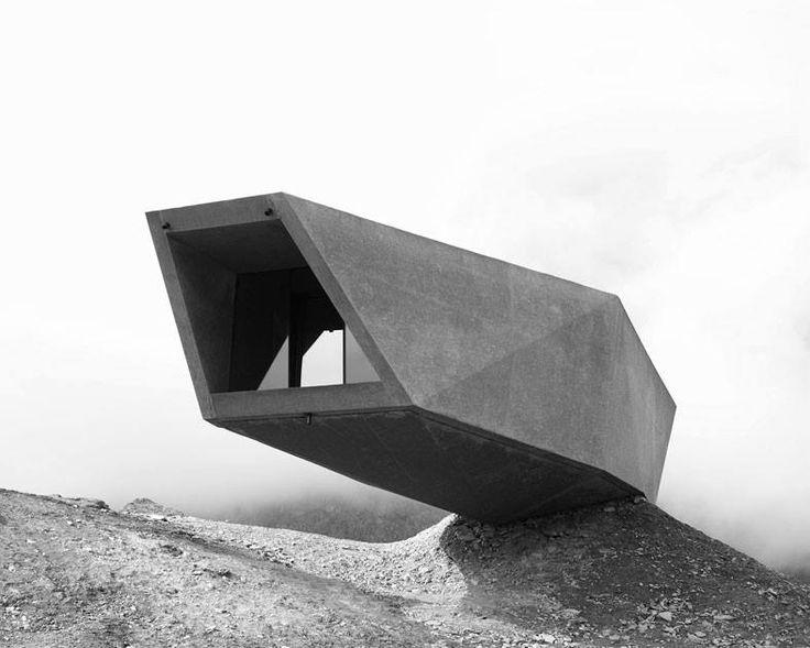 The Timmelsjoch Experience Pass Museum by Werner Tscholl, Timmelsjoch, Austria