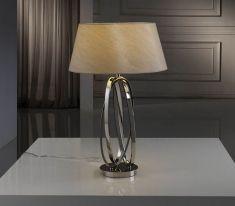 Lampade da tavolo moderne : Modello OVALOS Tostado