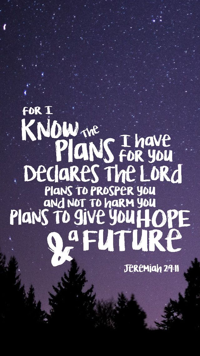 Jeremiah 29:11 lockscreen for iphone Camp Cherith week 2 2016