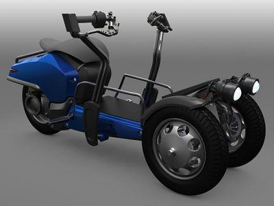 S Transfer : le scooter 3 roues pour les livraisons