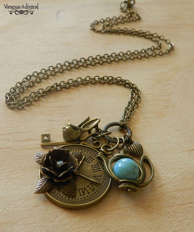Image of ~Time 4 Tea~ Wonderland Inspired Necklace