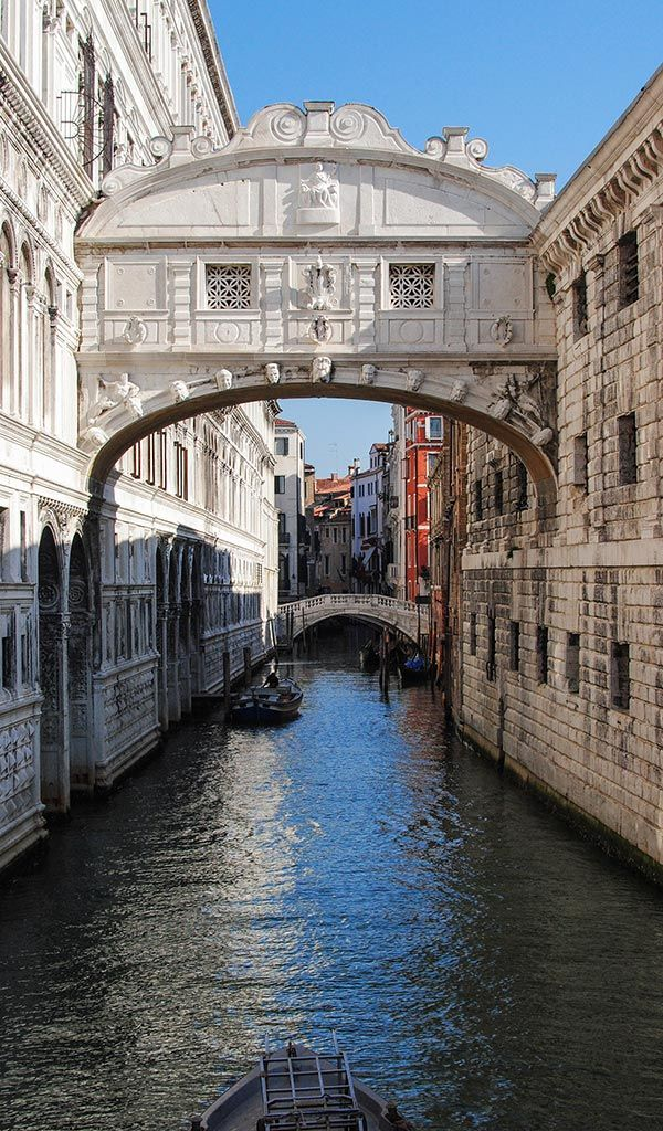 Bridge of Sighs, across Rio di Palazzo, Venice, Italy. By Anirudh Rao via rao.anirudh  on Flickr