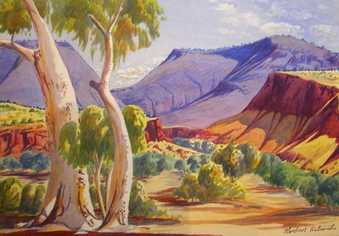 australian landscape art - Google Search