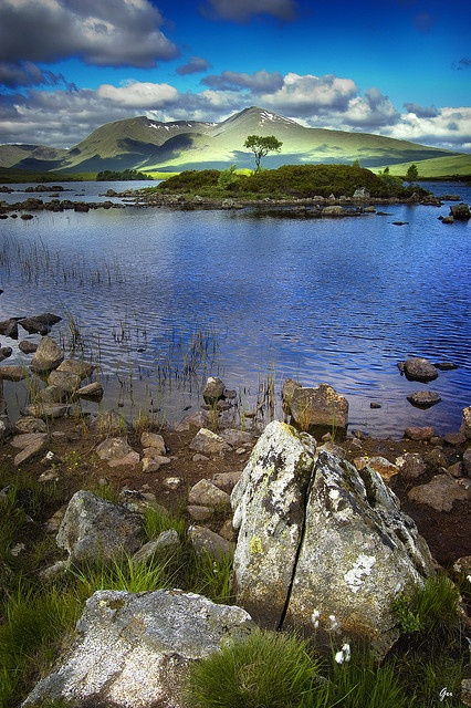 The Scottish Highlands...it did not look like this when I was there in the month of December. Need to go in summer!