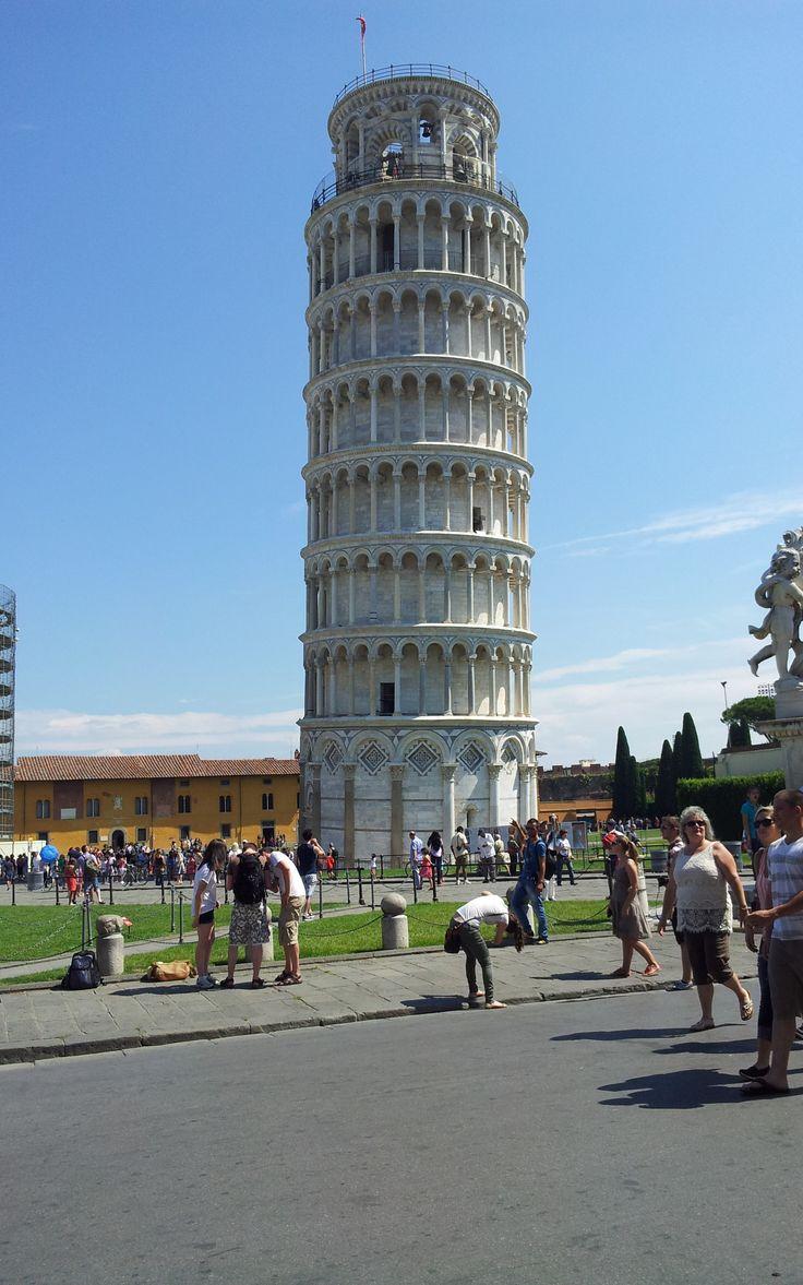 Toren van pisa. (Vakantie Toscane Italië juli 2013).  Samsung Galaxy Note 1 (GT-N7000)