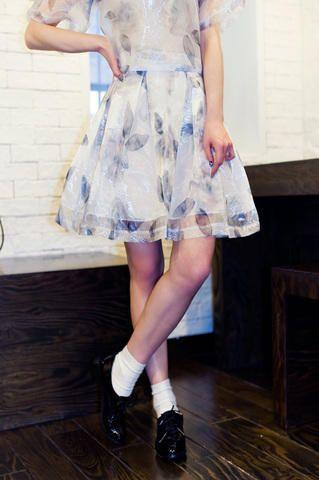 floral flare skirt from Kakuu Basic. Saved to Kakuu Basic Tees & Tops. Shop more products from Kakuu Basic on Wanelo.