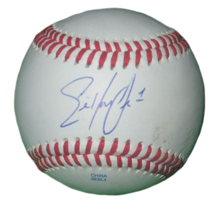 Eric Young Jr. Autographed Rawlings ROLB1 Leather Baseball, Proof Photo. Eric Young Jr. Signed Rawlings Baseball, Los Angeles Angels, New York Mets, Atlanta Braves, Colorado Rockies, Proof   This is a brand-new Eric Young Jr.autographed Rawlings official league leather baseball.Ericsigned the baseball in blueball point pen.Check out the photo of Ericsigning for us. ** Proof photo is included for free with purchase. Please click on images to enlarge. Please browse our websitefor…