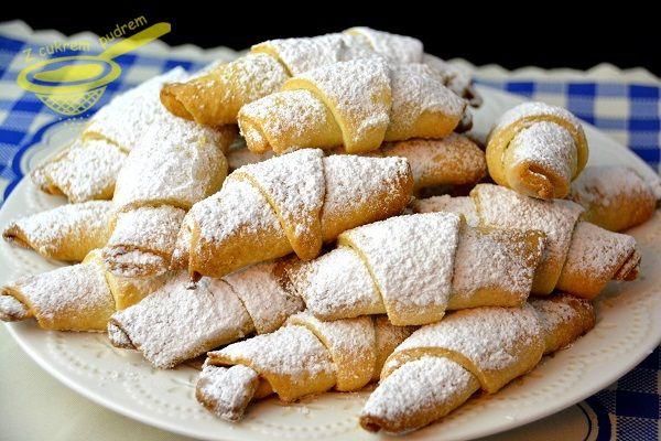 z cukrem pudrem: ciastka i małe wypieki