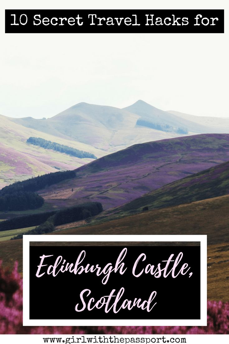 Edinburgh Castle is one of the best tourist attractions in Edinburgh, Scotland. However, understanding the top sites in Edinburgh Castle can be difficult. So check out ten travel hacks and travel tips that make Edinburgh Castle  one of the best attractions in Edinburgh.