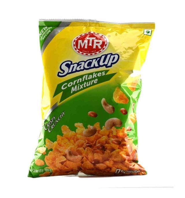 MTR ready to eat cook snacks corn flakes mixture mtr break time
