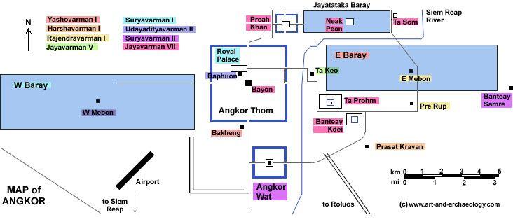 a short history of Angkor