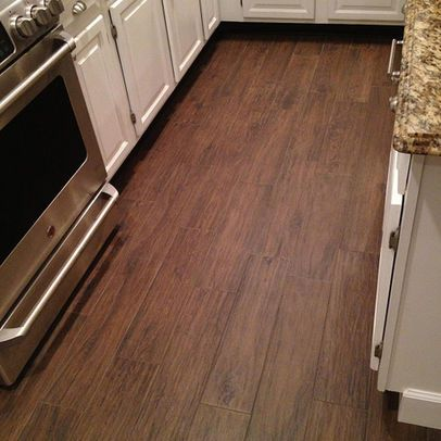 Matching Grout Porcelain Plank Wood Look Tile No