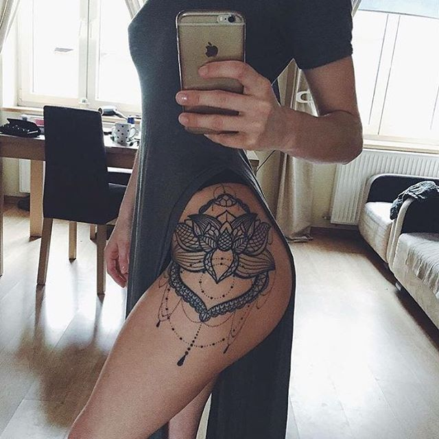 Literally obsessed with this. ❣ TAG someone! Credit: @ladyyaah - Follow my new acc: @tattoo.videos