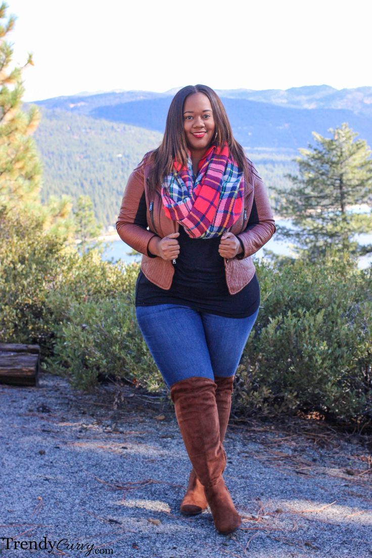 Lake Tahoe | Fall Fashion | TrendyCurvy