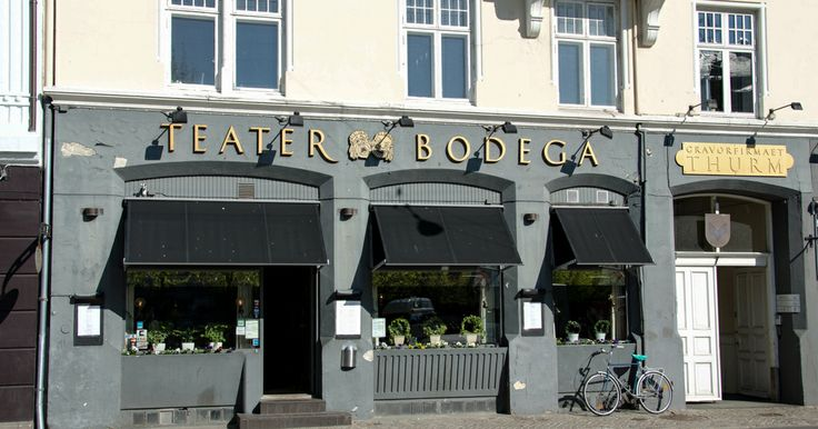 Teater Bodega i Skolegade i Aarhus