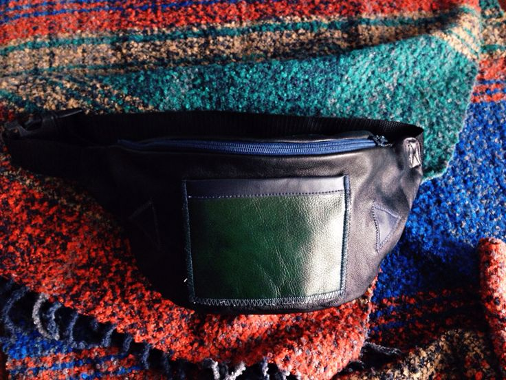 Waist bag leather