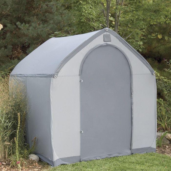 Flowerhouse StorageHouse 6 Ft. W x 6 Ft. D Plastic Portable Shed u0026 Reviews & Best 25+ Portable storage sheds ideas on Pinterest | Portable ...