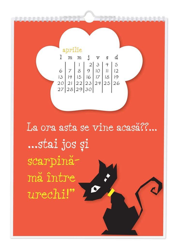 Calendar - Vorba pisicii