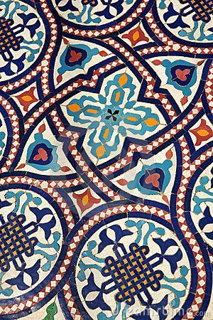 Intricate Moroccan tiling. Every tiny piece is painstakingly handcut, polished…