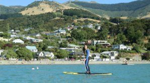 Paddle Boarding in Akaroa