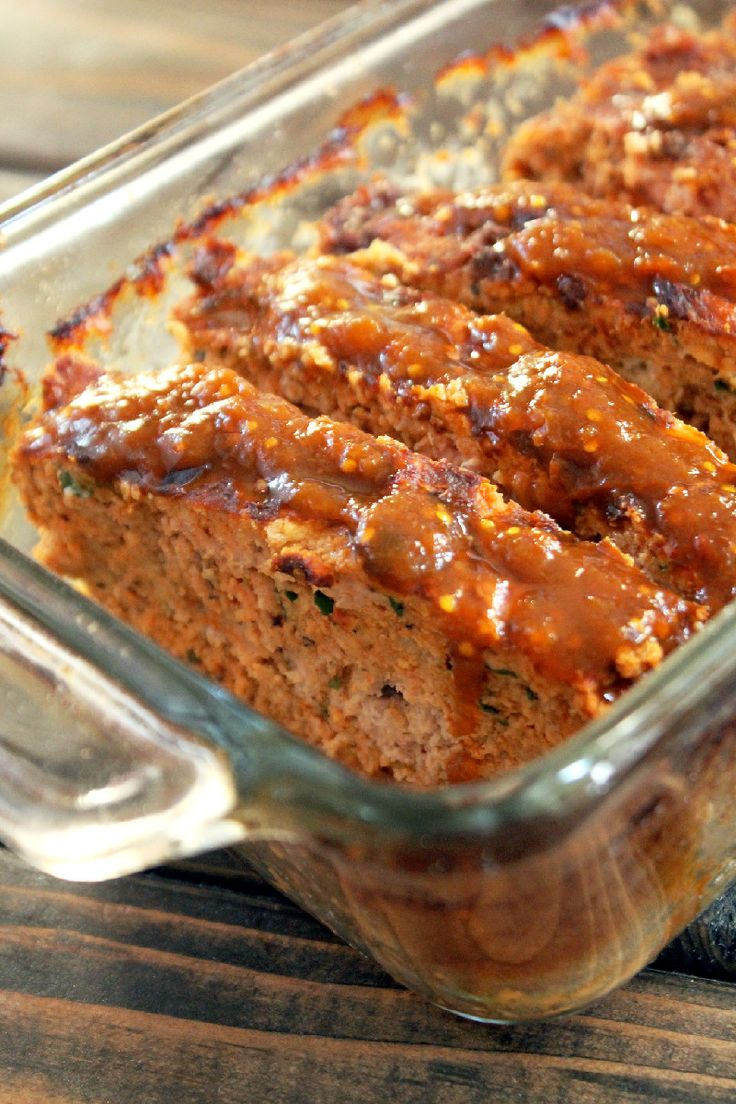 Mexican Meatloaf (Use ground turkey for a lighter version)