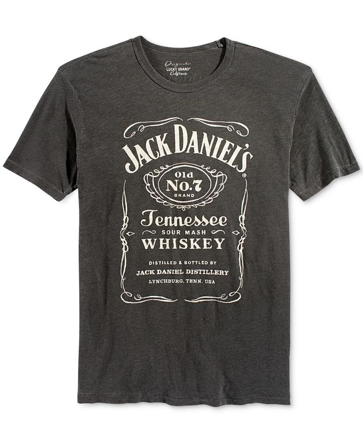 Lucky Brand's T-shirt delivers smooth style that's perfect for getting your Friday night started on the right foot. | Cotton | Machine washable | Imported | Crew neck  | Graphic print at front | Web I