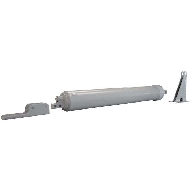 Quick-Hold Heavy Storm Door Closer (White)