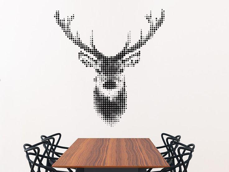 1000 ideas about hirschkopf deko on pinterest hemnes tagesbett ikea hemnes tagesbett and. Black Bedroom Furniture Sets. Home Design Ideas