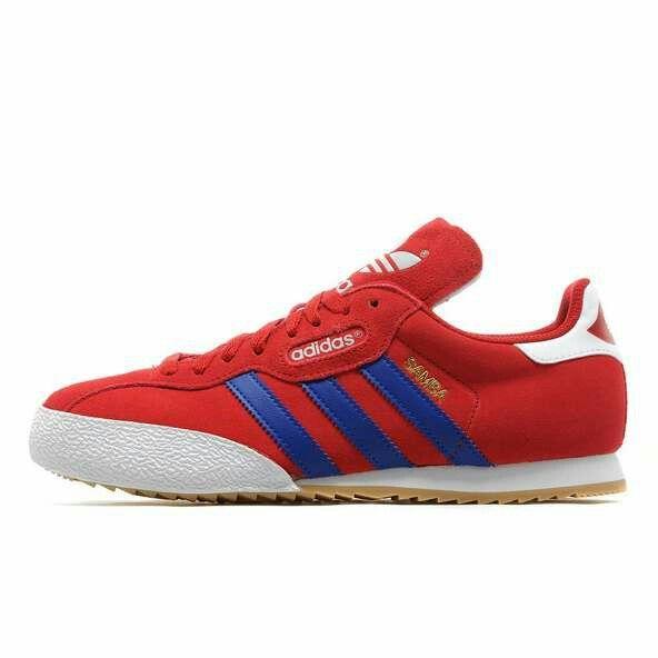 red adidas samba