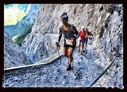 7 day stage race in the alps! Ultra Running at it's best.