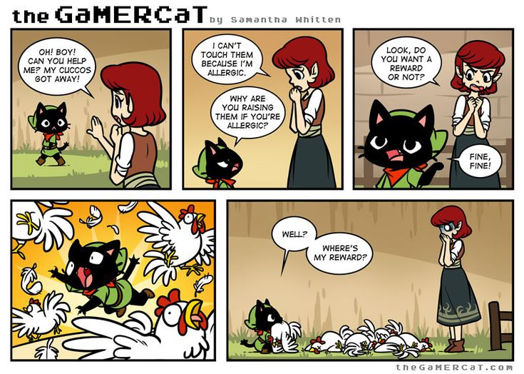 Check out the comic the GaMERCaT :: Help Wanted