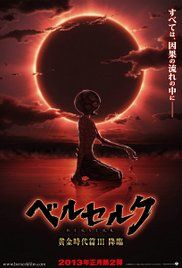 Berserk After The Eclipse Movie. A year has passed since Guts parted ways with Griffith. The Band of the Hawks is plotting a rescue mission to save Griffith who is confined to prison.