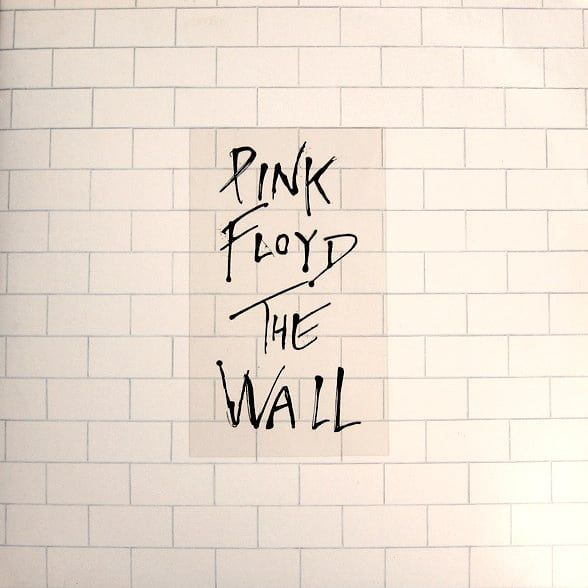 Pink Floyd On Instagram Today In 1979 Pink Floyd The Wall Was Released Original Vinyl Copies Had A Window Sticker Showing The Title Clinging To The Cover