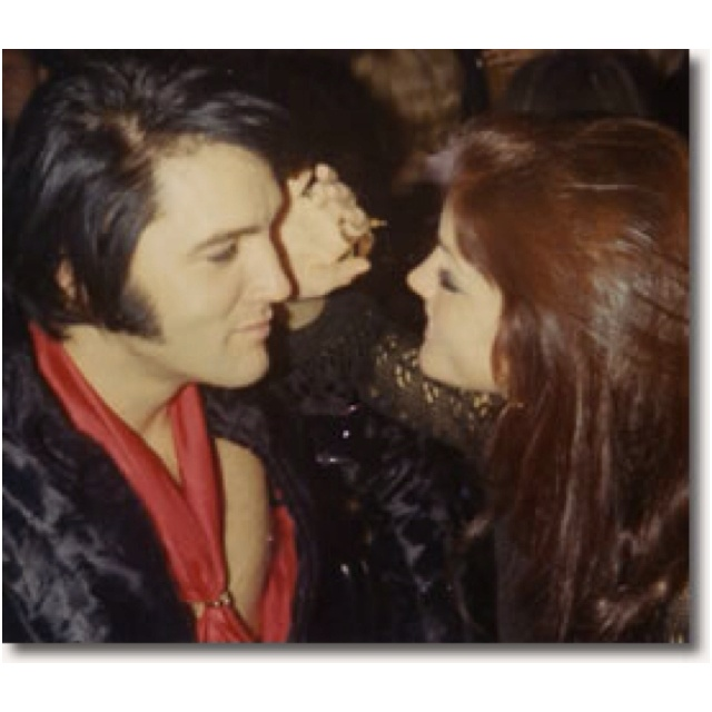 My favorite picture of Elvis and Priscilla