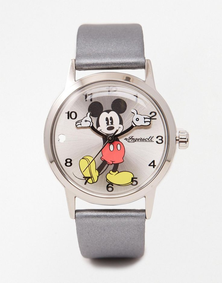 Disney Silver Mickey Mouse Watch