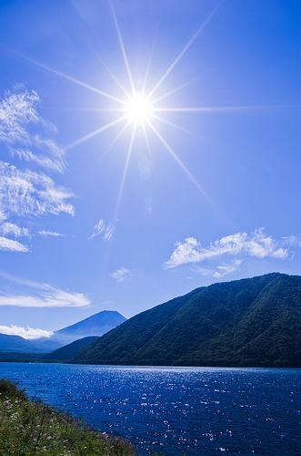 Motosu Lake #japan #yamanashi