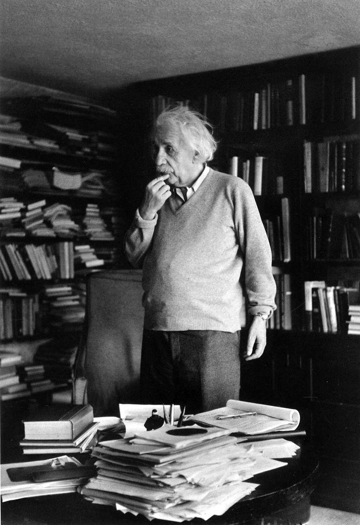 Ernst Haas: Albert Einstein, Princeton, NJ, 1951