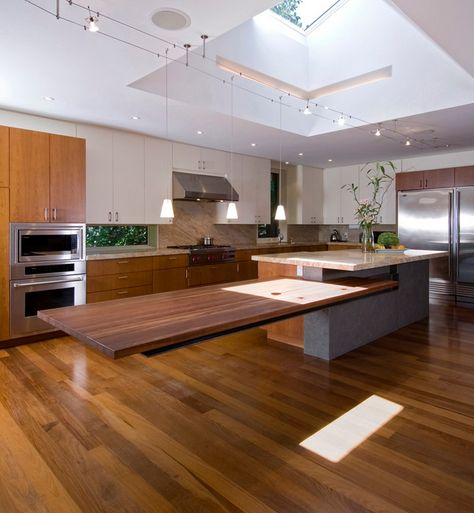 101 best island inspiration images on pinterest cuisine for Different kitchen island designs