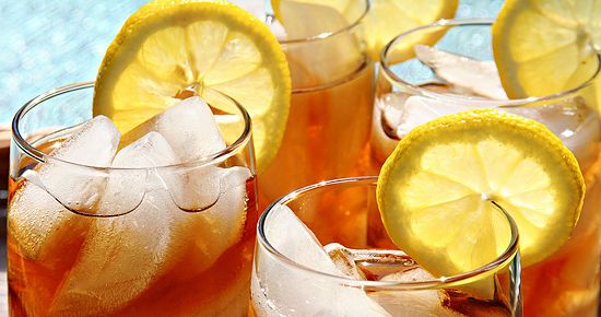 Homemade Iced Sweet Tea (with green tea, black tea, orange pekoe, or any tea you like).