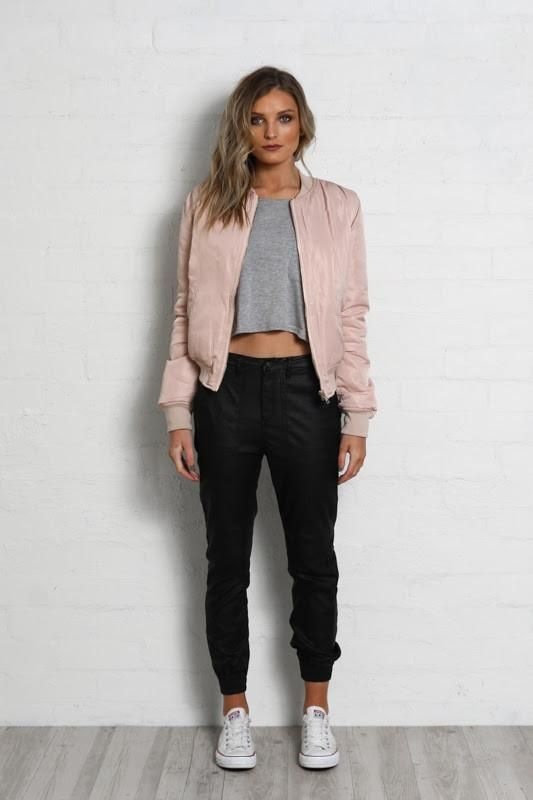 Game Changer Bomber Jacket by Madison Square | BLUSH (Pre-Order)