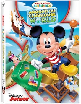 Mickey Mouse Clubhouse: Around the Clubhouse World hits shelves May 20th!  Read Hollie's review for more information on this fun DVD