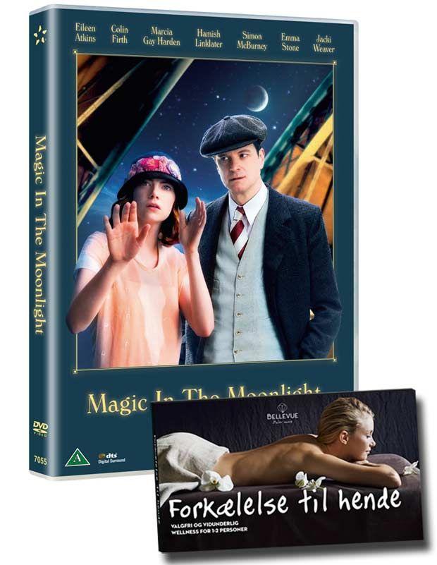 Vind Woody Allens romantiske komedie, der udspiller sig i 1920'ernes Côte d'Azur, med smukke palæer, smarte jazzklubber og masser af magi samt en skøn forkælelsesboks fra Bellevuebox , der giver Vidunderlig wellness fra top til tå for 1-2 personer.