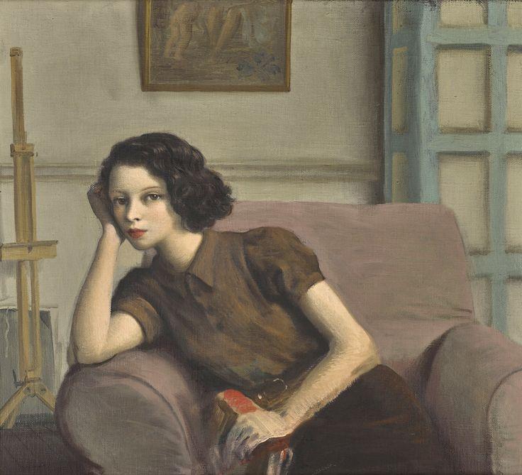 Portrait of Lady Caroline Paget,c.1890s. Rex Whistler