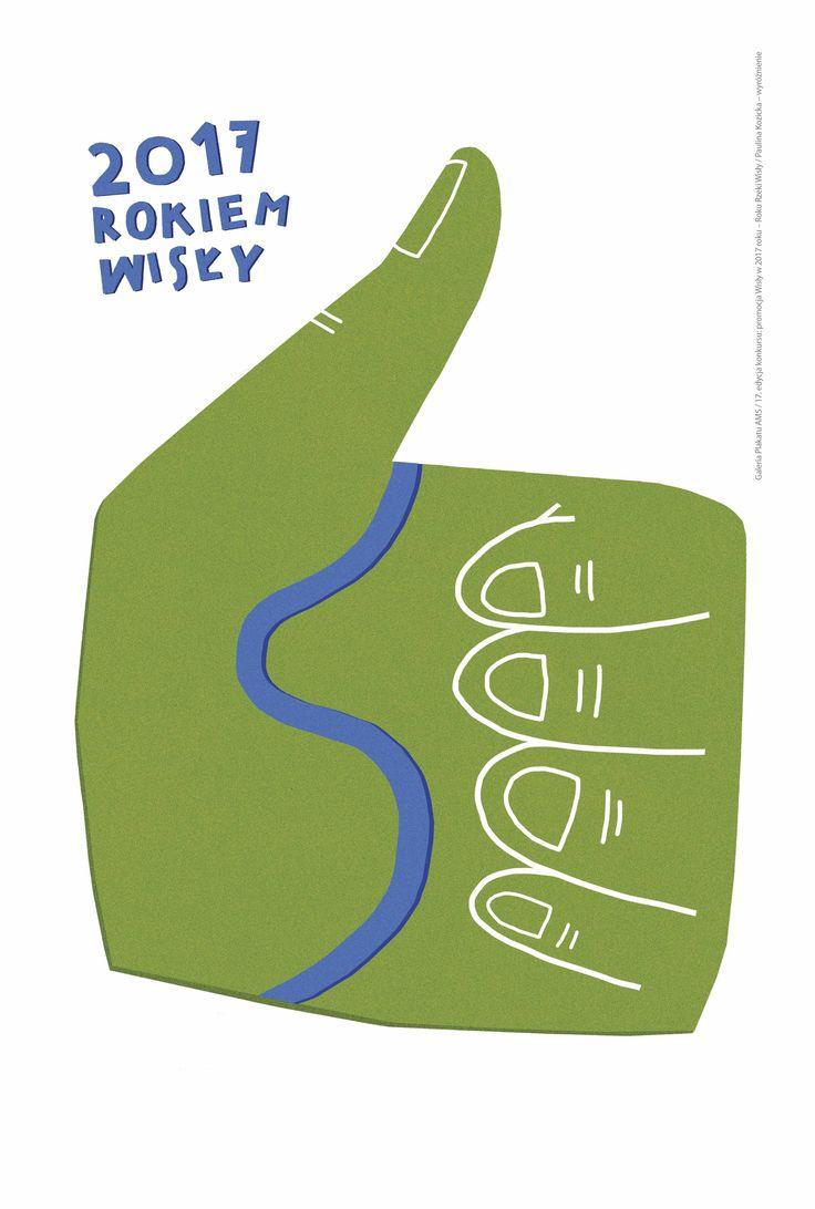 Plakat Pauliny Kozickiej - wymiary: 120 x 180 cm - cena: 35 zł / A poster by Paulina Kozicka - size: 120 x 180 cm - price: 35 zł