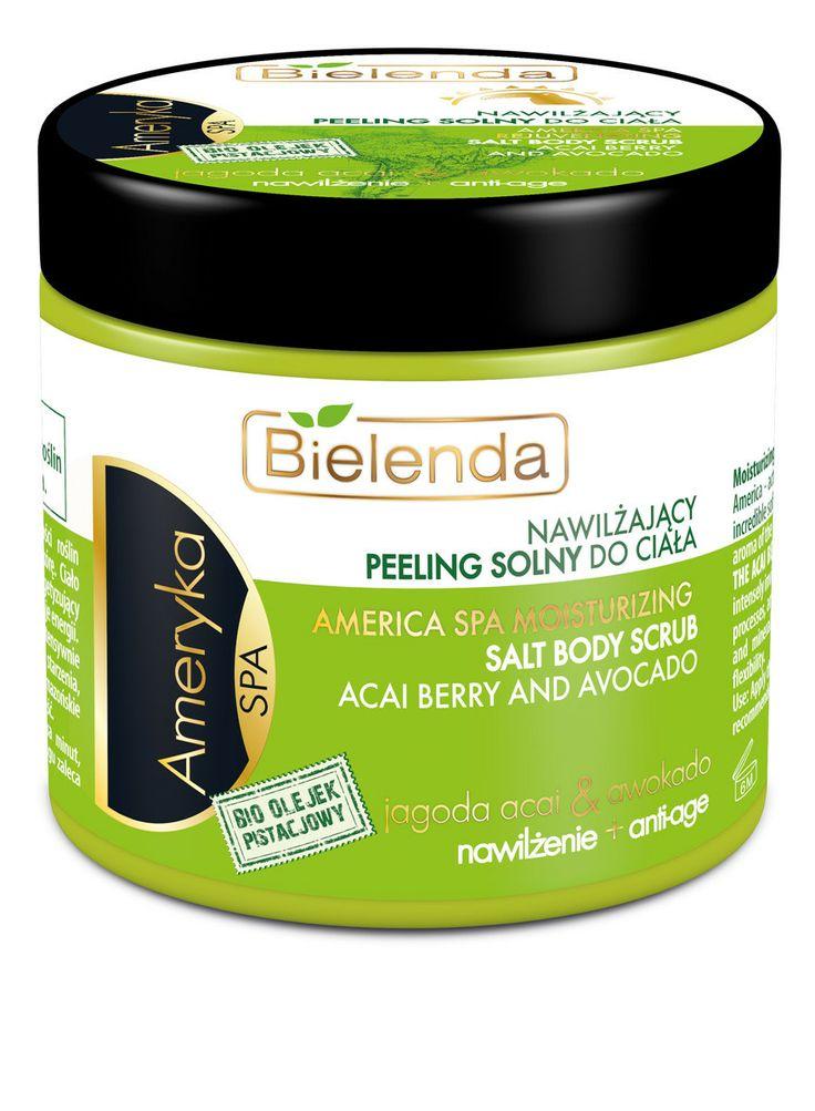 Bielenda AMERICA body salt scrub 200ml BI194405 | Visagist