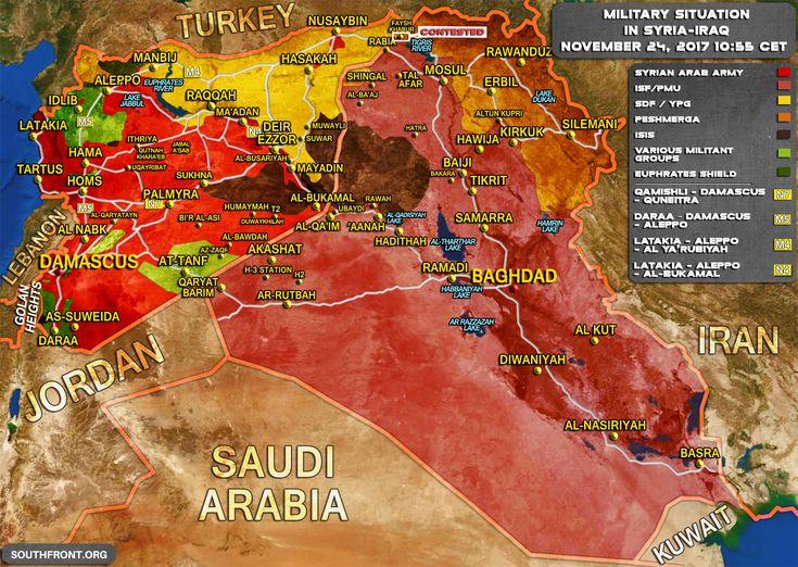 Gli Arcani Supremi (Vox clamantis in deserto - Gothian): Situazione in Siria e Iraq dopo la disgregazione dell'Isis e la conferenza di pace di Sochi