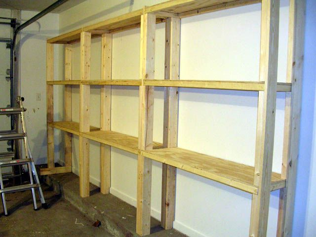 Do it yourself shelving | House | Pinterest