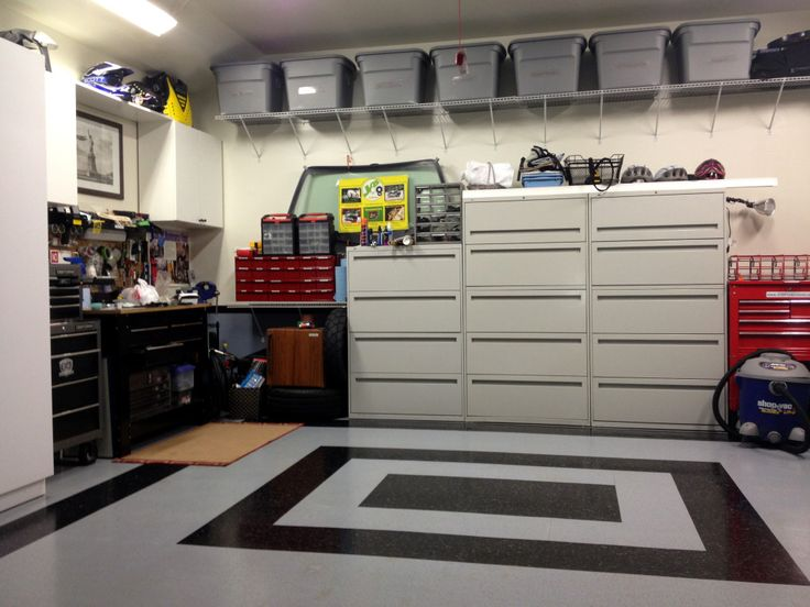 Newest photos and ideas of Plastic storage boxes to organize the garage .  Get this design of Plastic storage
