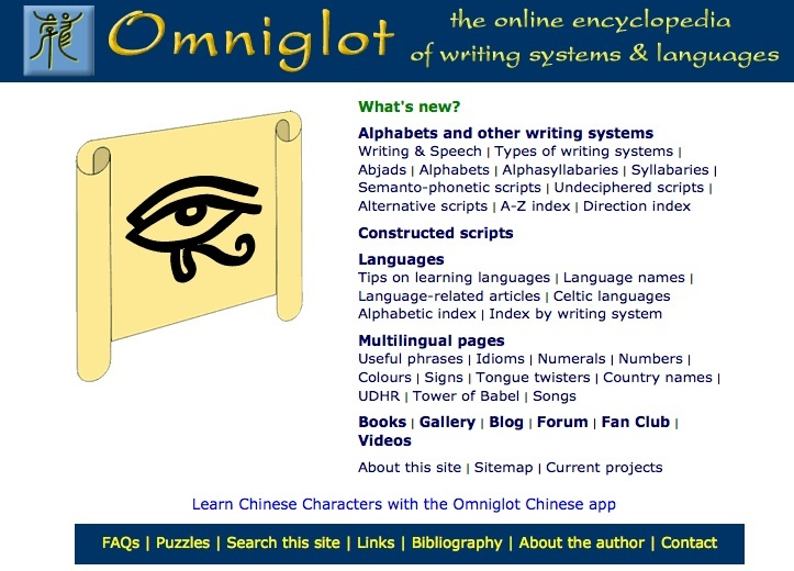 Language 101 Review Omniglot the online encyclopedia 1637740
